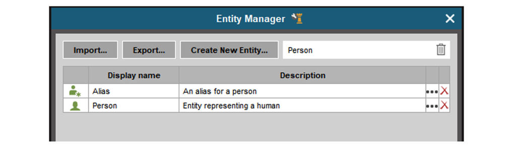 Search for Entity in Entity Manager